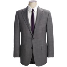 Hickey Freeman Plaid Suit - Worsted Wool (For Men) in Med Grey - Closeouts