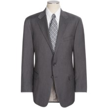Hickey Freeman Rope Stripe Suit - Wool (For Men) in Charcoal - Closeouts
