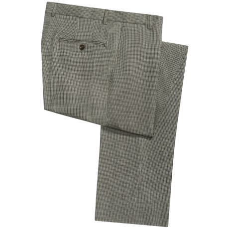Hickey Freeman Small Check Pants - Wool-Cashmere (For Men) in Multi