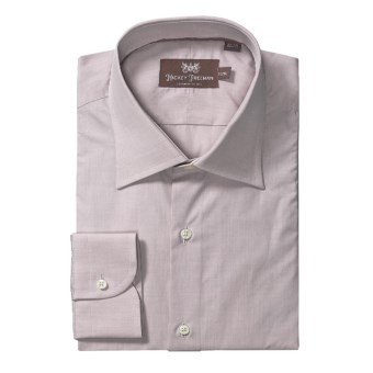 Hickey Freeman Solid Dress Shirt - Long Sleeve (For Men) in Beige