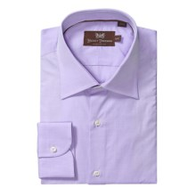 Hickey Freeman Solid Dress Shirt - Long Sleeve (For Men) in Lavender - Closeouts
