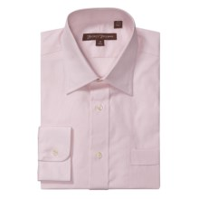 Hickey Freeman Solid Oxford Dress Shirt - Long Sleeve (For Men) in Pink - Closeouts