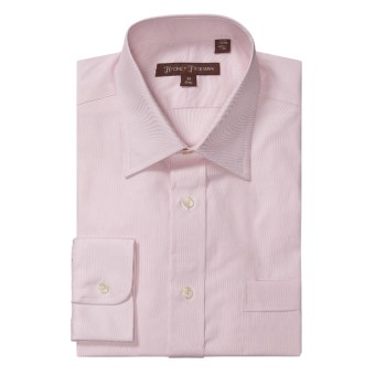 Hickey Freeman Solid Oxford Dress Shirt - Long Sleeve (For Men) in Pink