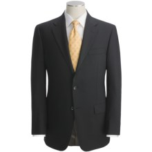 Hickey Freeman Solid Suit - Worsted Wool (For Men) in Black - Closeouts