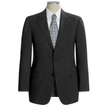 Hickey Freeman Solid Suit - Worsted Wool (For Men) in Charcoal Grey - Closeouts
