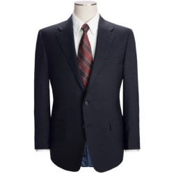 Hickey Freeman Solid Suit - Worsted Wool (For Men) in Navy