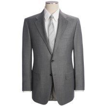 Hickey Freeman Stripe Suit - Worsted Wool (For Men) in Med Grey - Closeouts