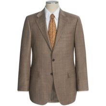 Hickey Freeman Subtle Windowpane Suit - Wool (For Men) in Tan - Closeouts
