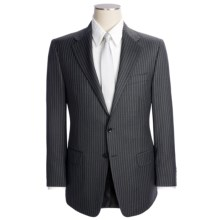 Hickey Freeman Thin Rope Stripe Suit - Wool (For Men) in Charcoal - Closeouts