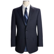 Hickey Freeman Tonal Mini-Stripe Suit - Worsted Wool (For Men) in Navy - Closeouts