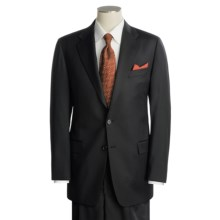 Hickey Freeman Worsted Wool-Cashmere Suit (For Men) in Black - Closeouts