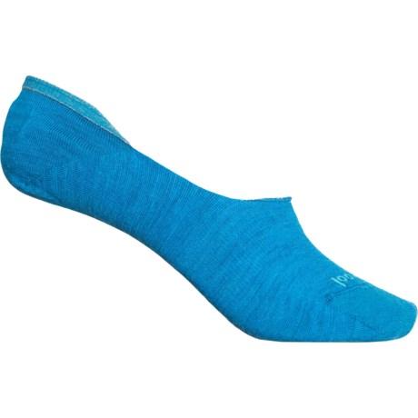 Hide and Seek Liner Socks - Merino Wool, Below the Ankle (For Women) - OCEAN ABYSS (M ) -  SmartWool