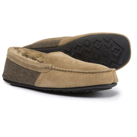 HideAways by L.B. Evans Hideaways by L.B. Evans Grayson Moccasins - Suede (For Men) in Tan
