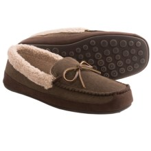 HideAways by L.B. Evans Tillman Slippers (For Men) in Chocolate - Closeouts
