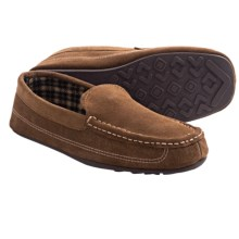 Hideaways Quinn Slippers - Suede, Flannel Lining (For Men) in Tan - Closeouts