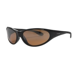 HiDefSpex Daytona Sunglasses in Gloss Black/25 Mirror Hydro