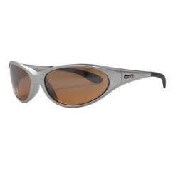 HiDefSpex Daytona Sunglasses in Silver/25 Mirror Hydro