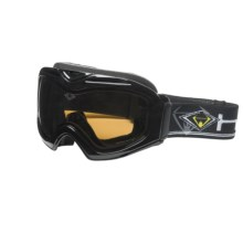 HiDefSpex Piranha Snowsport Goggles - Polarized in Black/Copper - Closeouts