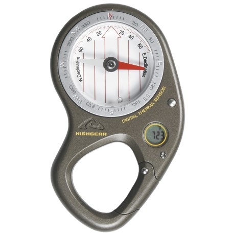 High Gear TrailPilot 2 Compass - Digital Thermometer in See Photo
