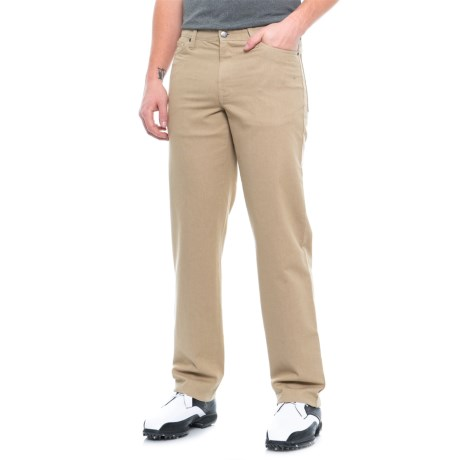 High-Performance Cotton Stretch Golf Pants (For Men)