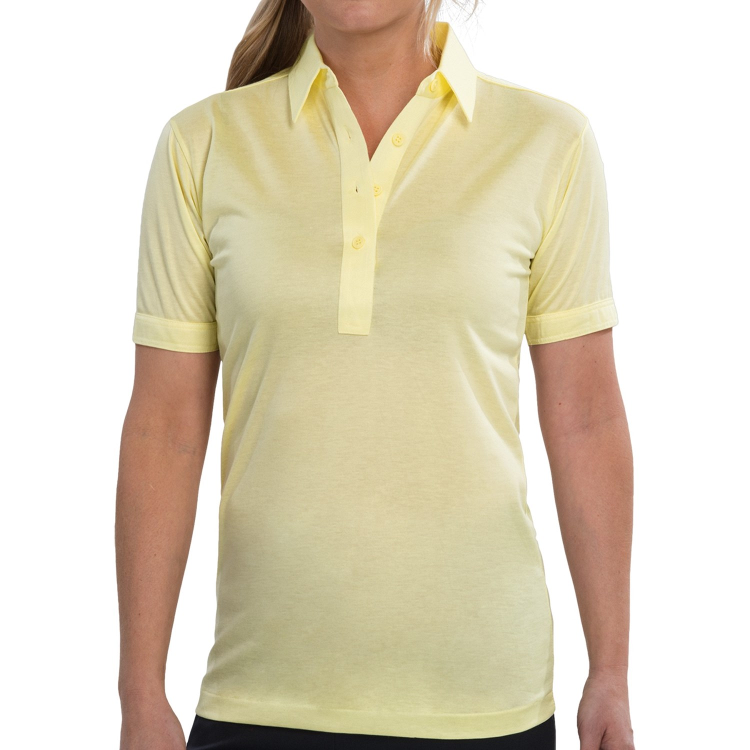 High Performance Polo Shirt Short Sleeve For Women In
