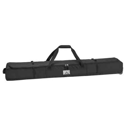 High Sierra 170cm Wheeled Double Ski Bag in Black