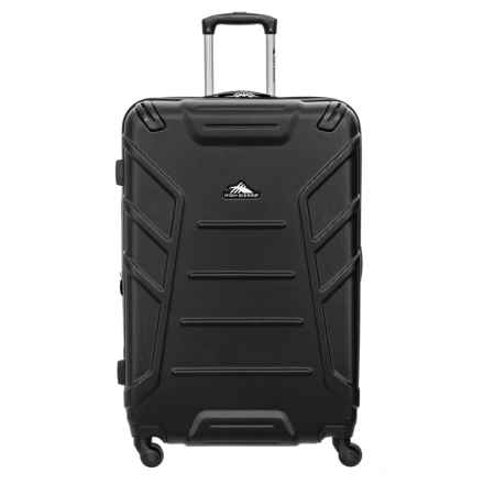 """High Sierra 24"""" Rocshell Spinner Suitcase in Black - Closeouts"""