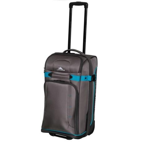 """High Sierra 25"""" Evanston Rolling Upright Suitcase in Slate/Mercury/Pool"""