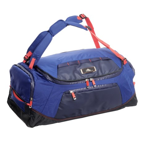 "High Sierra 26"" AT8 Convertible Duffel Backpack in Sapphire/Red Line"