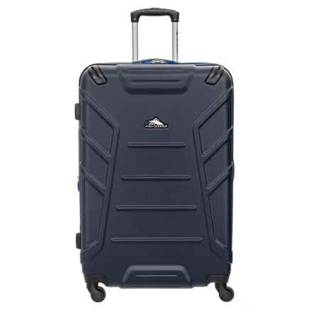 "High Sierra 28"" Rocshell Spinner Suitcase in Midnight/Vivid - Closeouts"