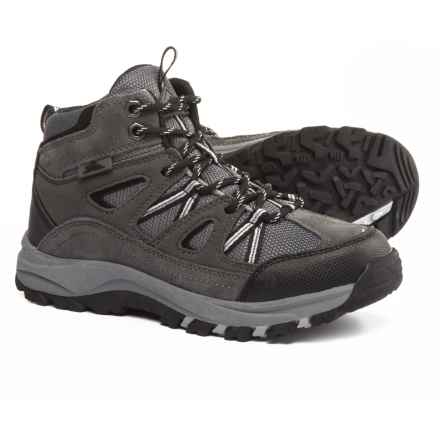 High Sierra Abbott Hiking Boots (For Big Boys) in Grey - Closeouts