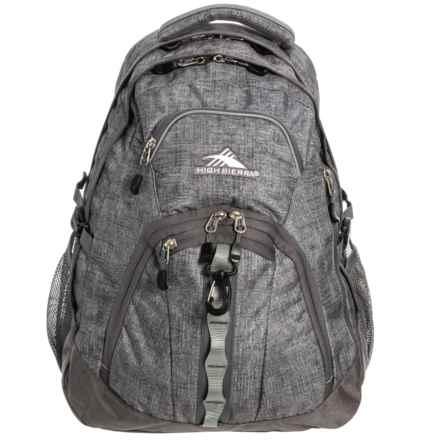High Sierra Access 2.0 45L Backpack in Woolly Weave/Slate