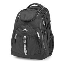 High Sierra Access Backpack in Black - Closeouts