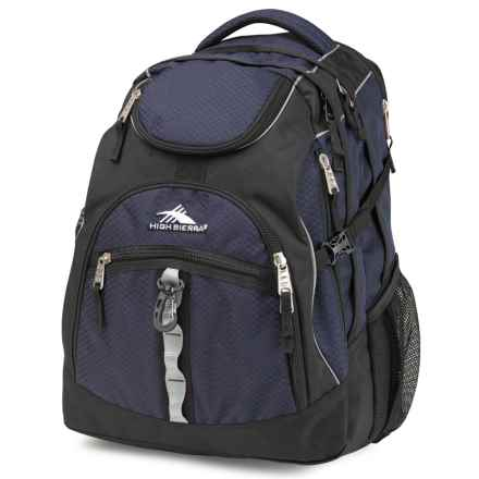 High Sierra Access Backpack in Midnight Blue/Black - Closeouts