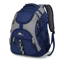 High Sierra Access Backpack in True Navy/Charcoal - Closeouts