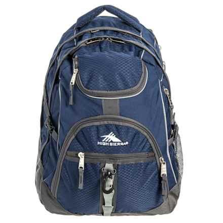 High Sierra Access Backpack in True Navy/Mercury
