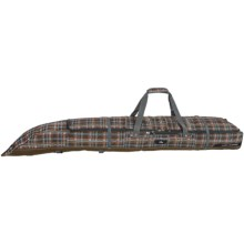 High Sierra Adjustable Double Ski Bag in Mountain Plaid/Espresso - Closeouts