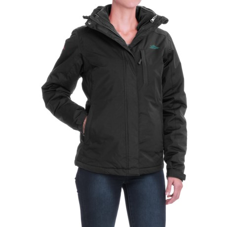 High Sierra Alta Interchange Jacket - Waterproof, Insulated, 3-in-1 (For Women) in Black