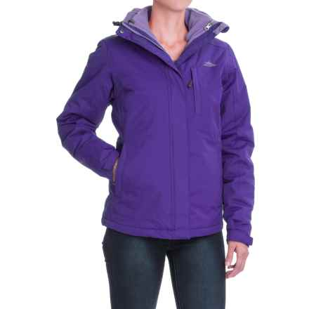 High Sierra Alta Interchange Jacket - Waterproof, Insulated, 3-in-1 (For Women) in Deep Purple/Lavender - Closeouts