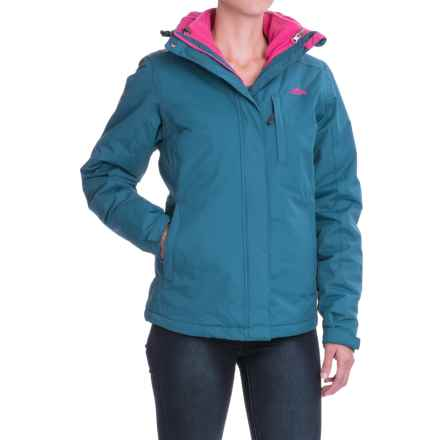 High Sierra Alta Interchange Jacket - Waterproof, Insulated, 3-in-1 (For Women) in Lagoon/Fuschia - Closeouts