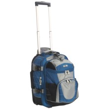"High Sierra A.T. Gear Wheeled Backpack - Removable Daypack, 20.5"" in Blue - Closeouts"
