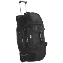 "High Sierra A.T. Gear Wheeled Duffel Bag - 30"" in Black - Closeouts"