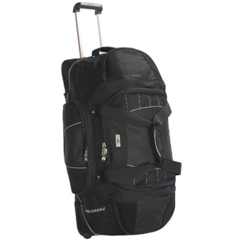 "High Sierra A.T. Gear Wheeled Duffel Bag - 30"" in Black"