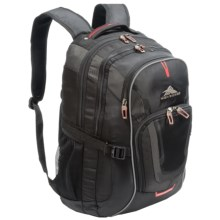 High Sierra AT7 Computer Backpack in Black - Closeouts