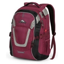 High Sierra AT7 Computer Backpack in Boysenberry - Closeouts