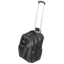 High Sierra AT7 Rolling Computer Backpack in Black - Closeouts