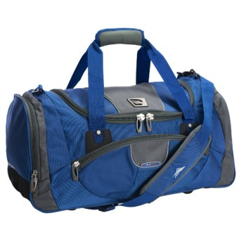 "High Sierra ATGO Sport Travel Duffel Bag - 22"" in Go Blue/Dark Tungsten/Black"