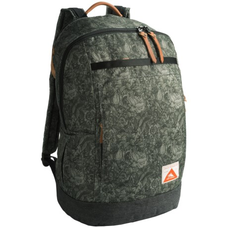 High Sierra Avondale 19L Backpack in Floral/Raven