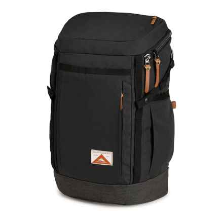 High Sierra Belden 33L Backpack in Raven/Raven - Closeouts