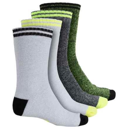 High Sierra Boot Socks - 4-Pack, Crew (For Men) in Heather Combo - Closeouts